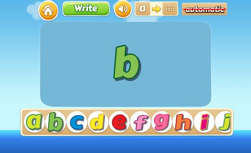 Learning Alphabet Easily - náhled