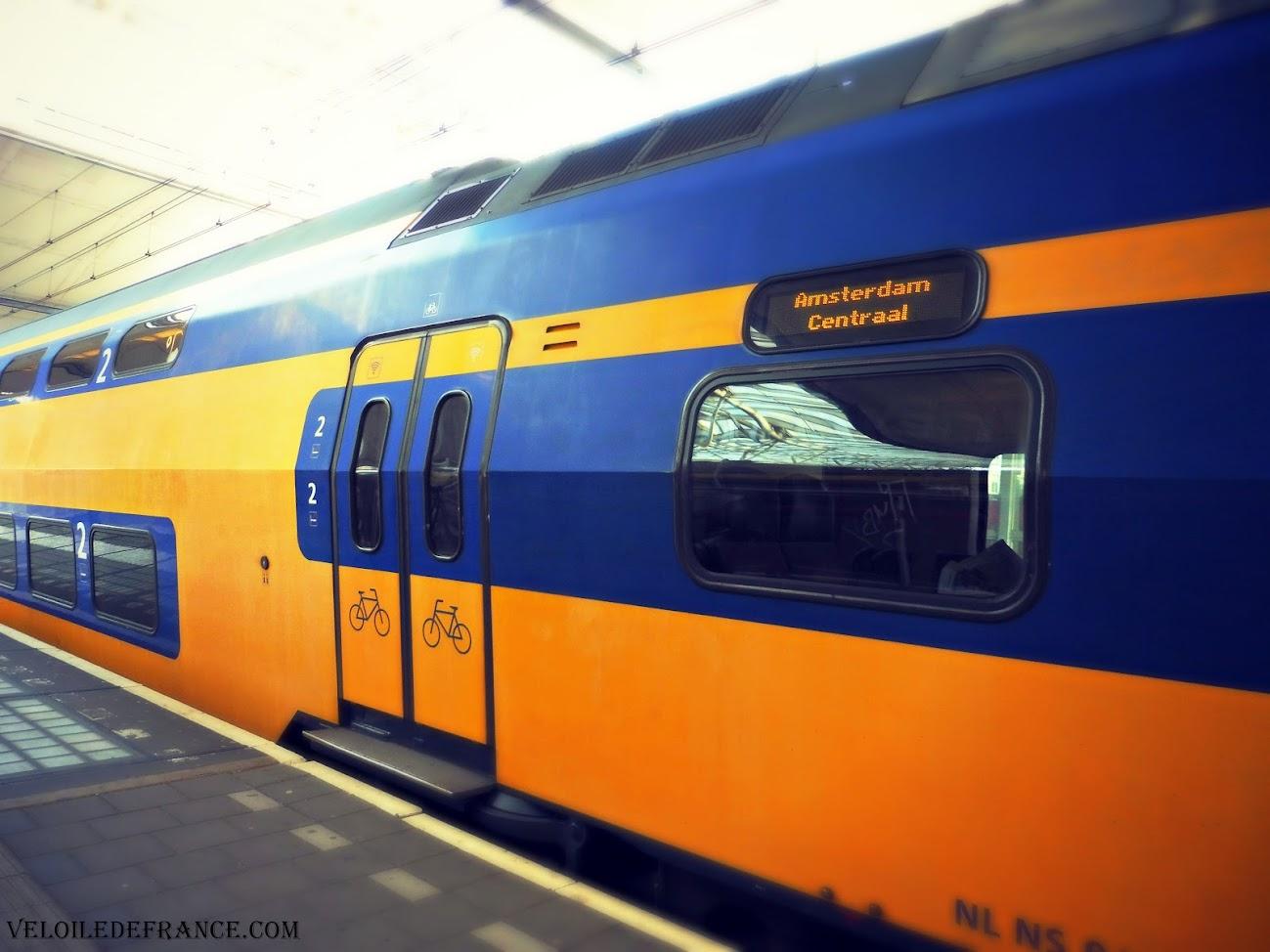 Train Intercités NS aux Pays Bas