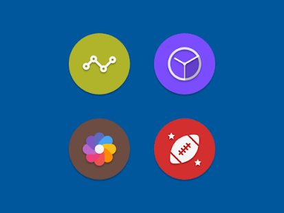 NAXOS FLAT ROUND - ICON PACK Screenshot 6