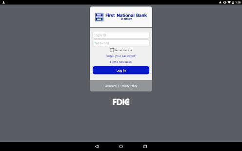 First National Bank in Olney- screenshot thumbnail