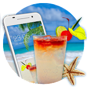 Hot Summer Theme: Tropical Sunny Beach wallpaper