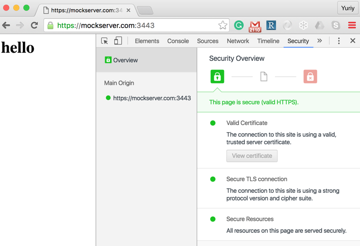 Node js and Self-signed SSL Certificates - Apigee Community