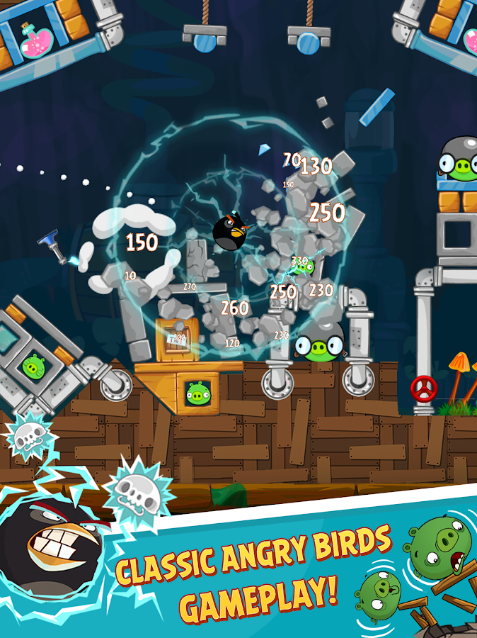 Angry Birds Classic- screenshot