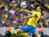 Zlatan Ibrahimovic is helemaal terug bij de nationale ploeg van Zweden