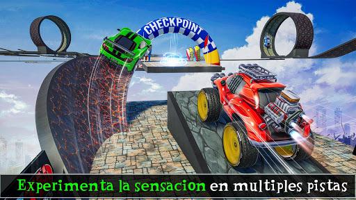 gt voiture cascades 2020 - course de survie toon  captures d'écran 1
