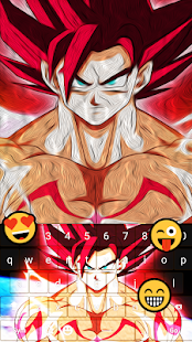 Super Saiyan Keyboard Emoji - náhled