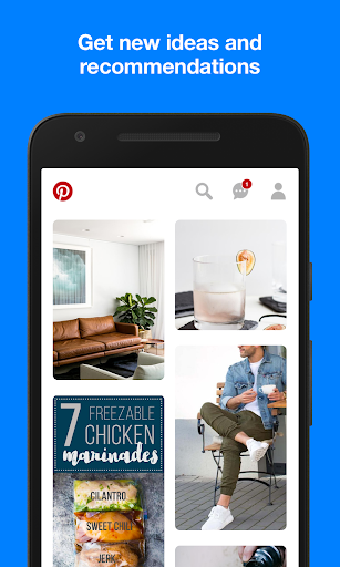 Pinterest app (apk) free download for Android/PC/Windows screenshot