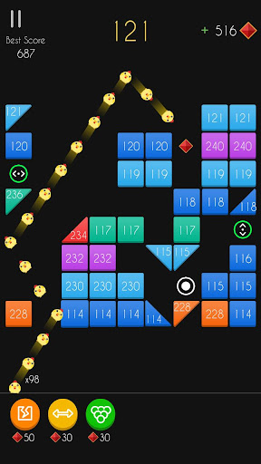 Balls Bricks Breaker 2 - Puzzle Challenge apkdebit screenshots 15
