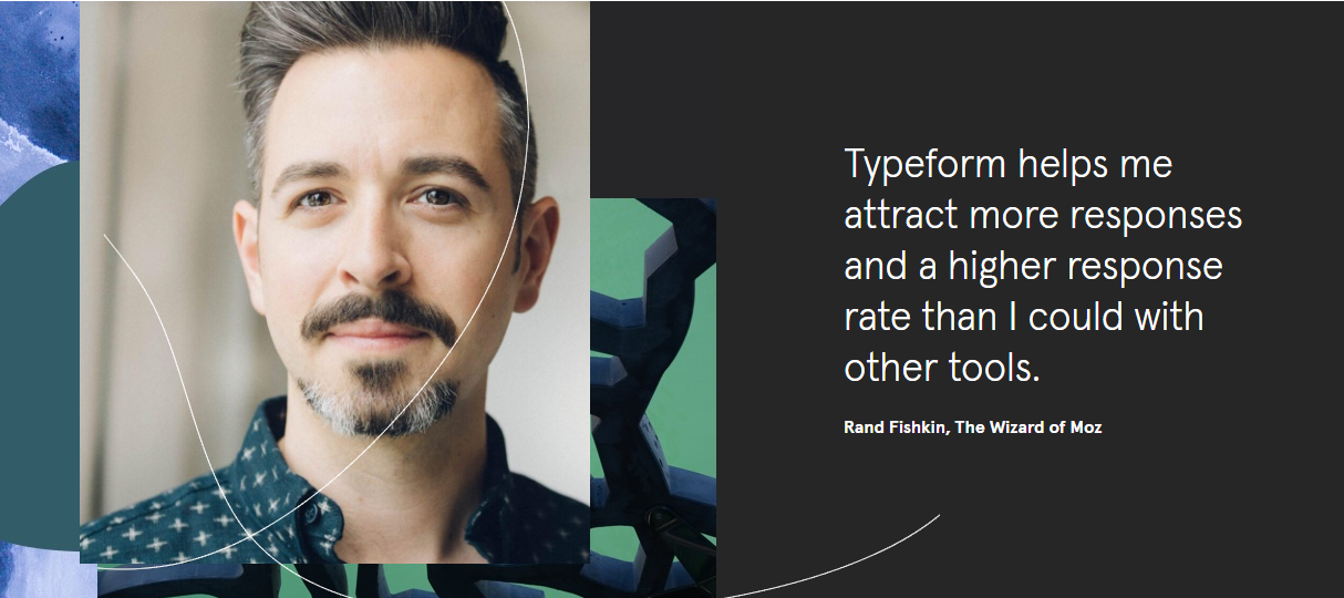 Typeform's B2B customer testimonials stand out from the crowd.