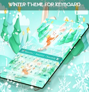 Winter Theme for Keyboard - náhled