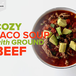 Cozy Taco Soup with Ground BeefRecipe by Erin Druga.