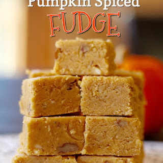 PUMPKIN SPICED FUDGE