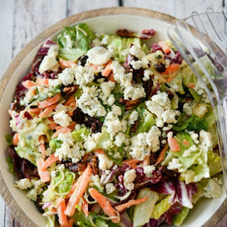 Bleu Cheese Pecan Chopped Salad (Outback Steakhouse Copycat).