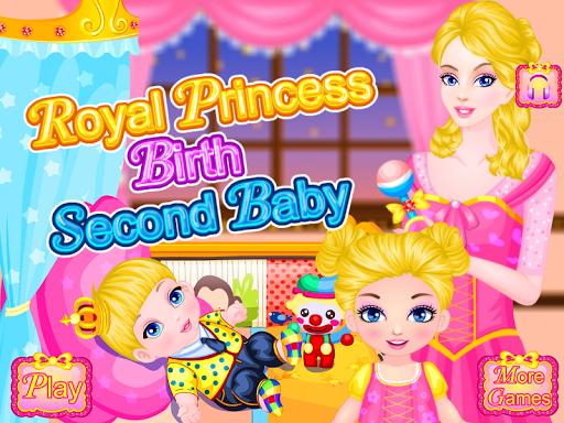 公主出生的寶寶的遊戲