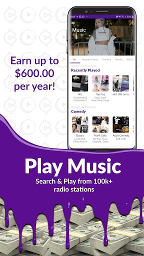 Earn Cash & Money Rewards - CURRENT Music Screen screenshots 2