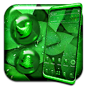 Green Leaf Water Drop Theme icon