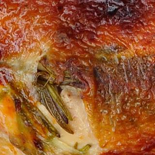 Crisp skin roasted chicken for St. Peter's day