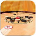 Multiplayer Carrom Board : Real Pool Carrom Game icon
