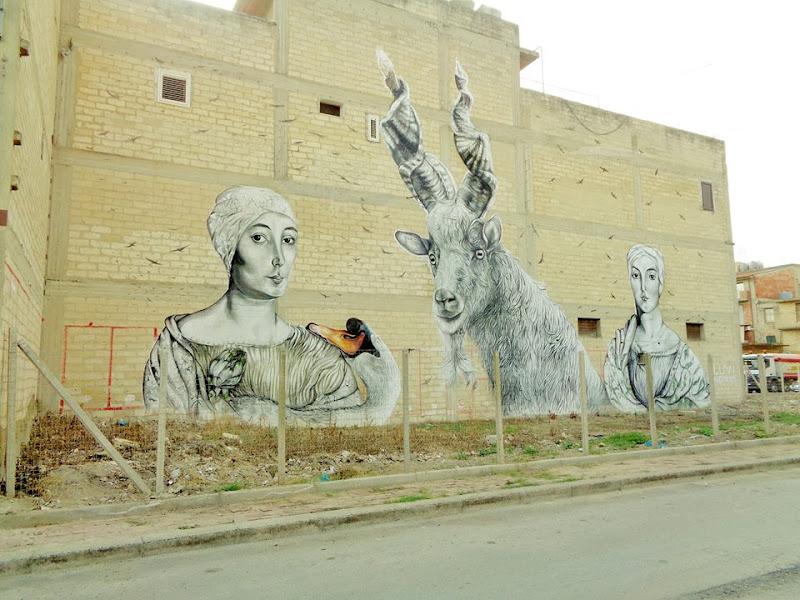 murales fuori posto di wolf moor