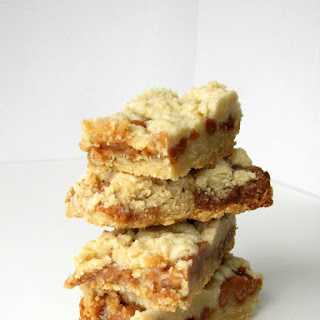 Slow Cooker Salted Caramel Cookie Bars.