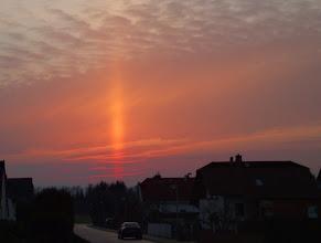 Photo: Eine Kerze im April. Gute Nacht Borkener Seenland #365tageinsew, (c) Brigitte Albrecht