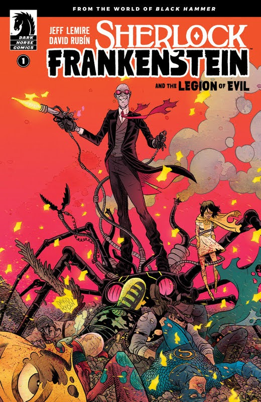 Sherlock Frankenstein and the Legion of Evil (2017) - complete
