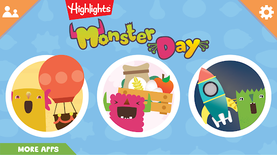 Lo destacado de Monster Day: Juego preescolar útil 1.1.9 APK + Modificación (Free purchase) para Android