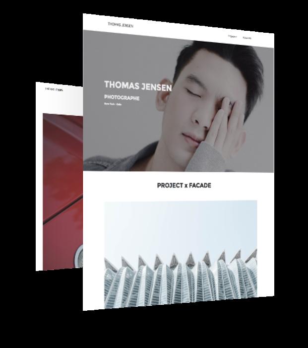 responsive design template