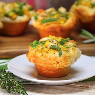 Chicken Pot Pie Cupcakes Are a Spin on a Classic Comfort Food Meal