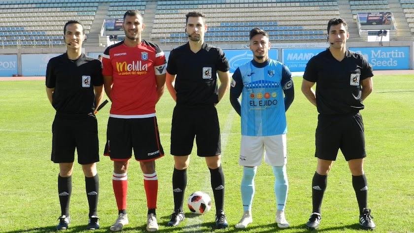 Javilillo, capitán del CD El Ejido.