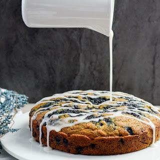 Dairy-Free Wild Blueberry Coffee Cake Recipe