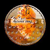 Autumn song GO Keyboard
