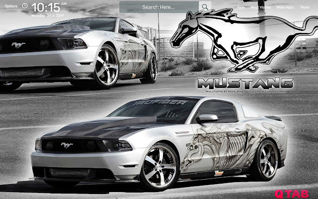 Ford Mustang Wallpapers New Tab Theme