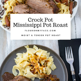 Crock Pot Mississippi Pot Roast.