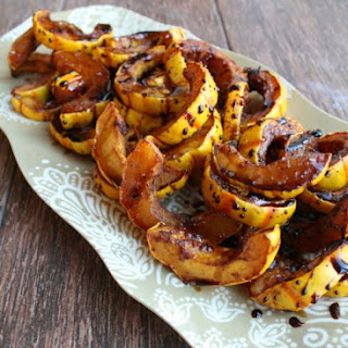 Roasted Delicata Rings