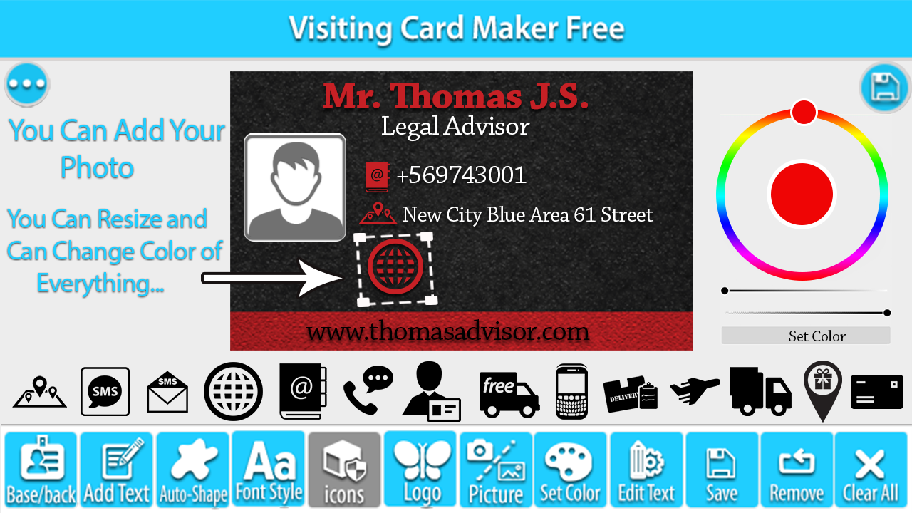 Visiting Card Maker Free - Android Apps on Google Play