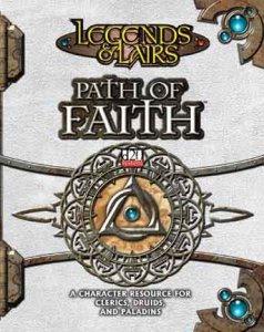 D20 LEGENDS & LAIRS: PATH OF FAITH (Sourcebook) (Hardback)