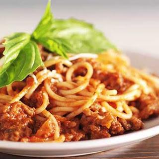 Slow Cooker Skinny Spaghetti Recipe