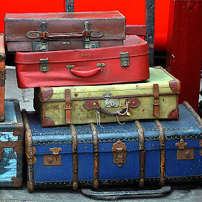 Colours  of  cargo by Gordon Simpson - Artistic Objects Other Objects