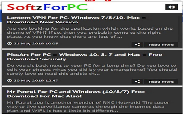 Softz For PC