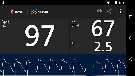 Masimo Professional Health screenshot