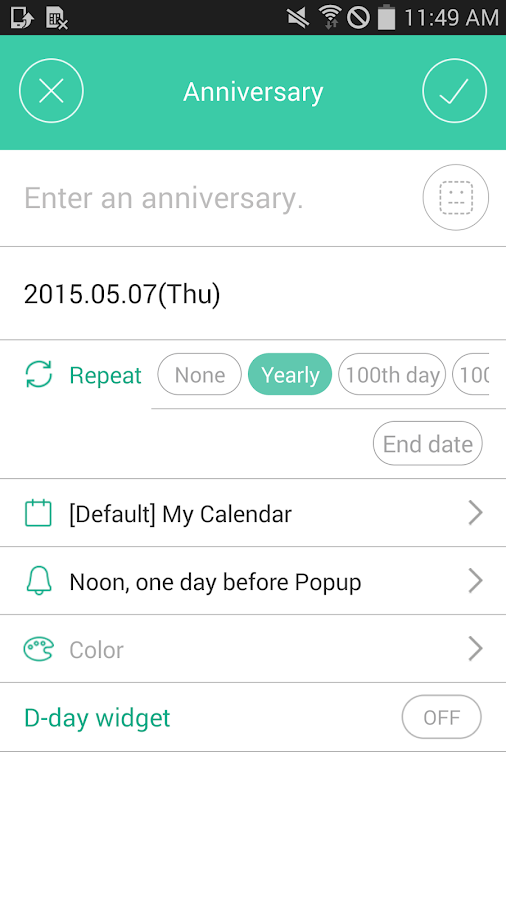 Naver Calendar - screenshot