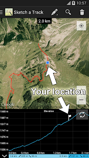 Sketch a Track - GPX Viewer- screenshot thumbnail