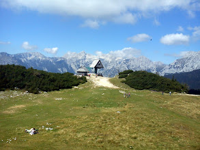 Photo: pogled na Grintovec i Kalski greben