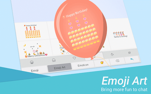 TouchPal Emoji Keyboard Screenshot