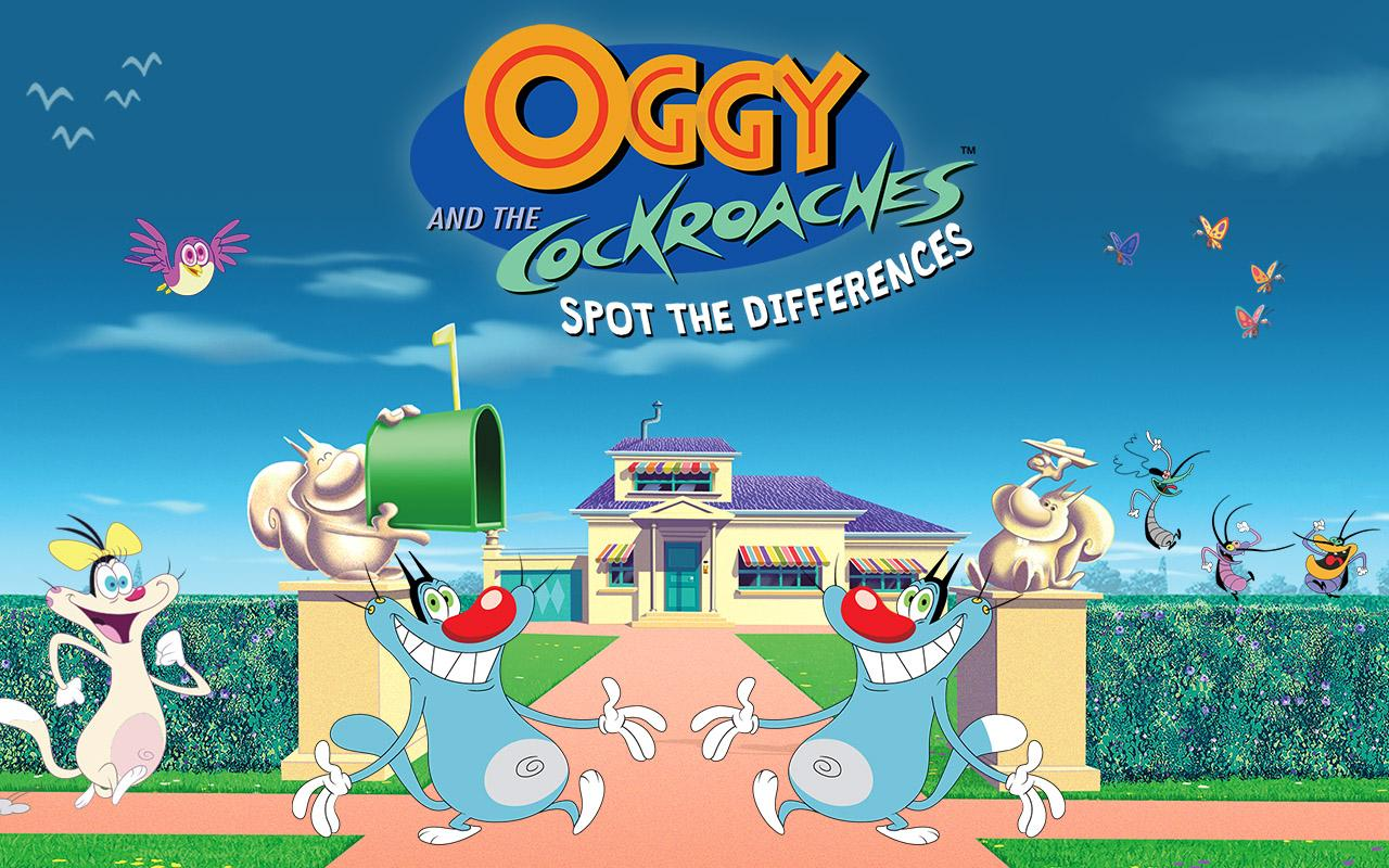 Oggy and the Cockroaches  Spot The Differences  Android Apps on