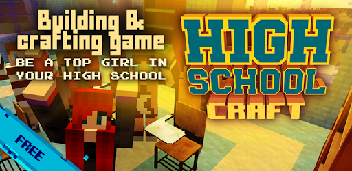 High school story! Creative exploration game Build & craft for teenage girls!
