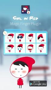 Red Girls-Magic Finger Plugin screenshot 3