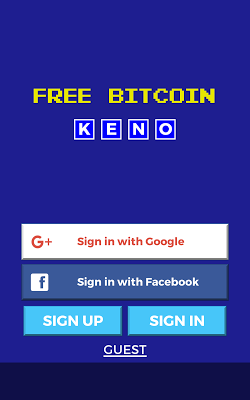 Free Bitcoin Keno - screenshot