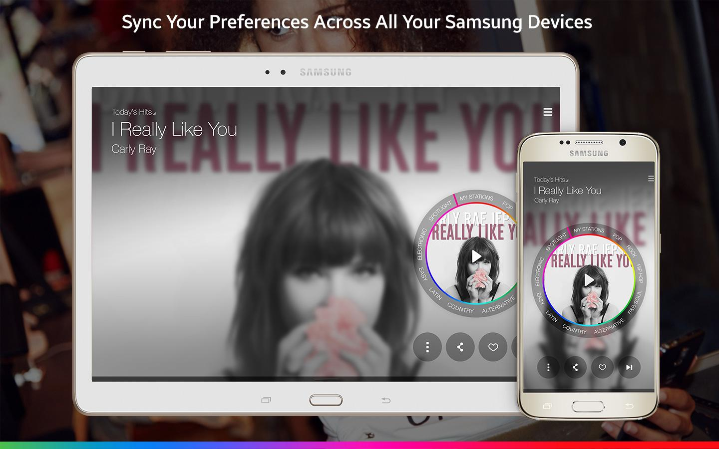 Samsung Milk Music- screenshot